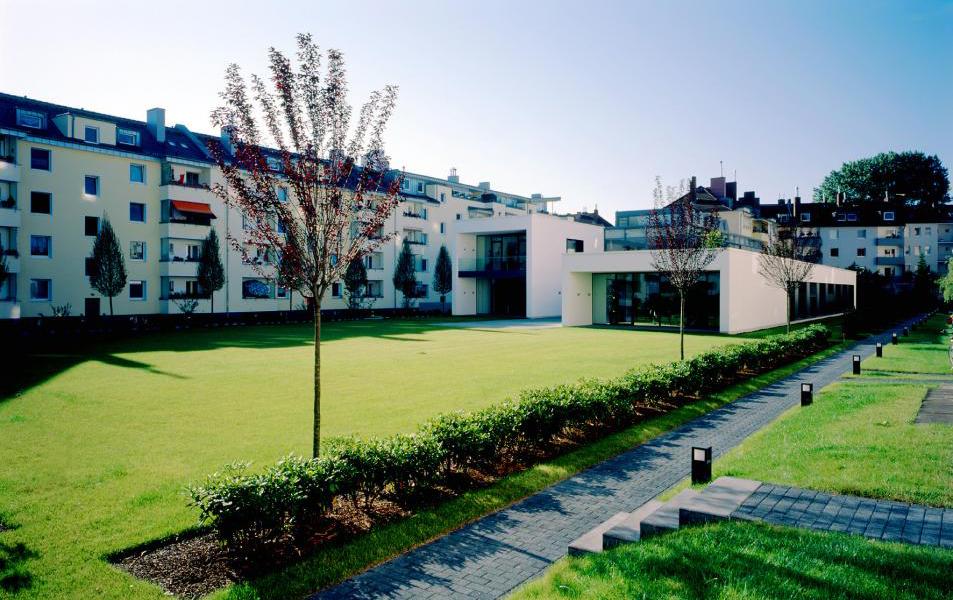 Gründach der Firmenzentrale der Kölner Wohnungsbaugenossenschaft eG