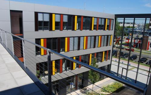 Gründach des Technologiezentrums MAFINEX in Mannheim