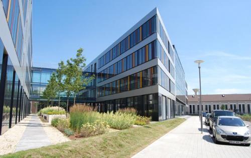 Intensive Dachbegrünung des Technologiezentrums MAFINEX in Mannheim
