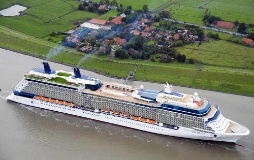 Die Celebrity Solstice - das weltweit erste Kreuzfahrtschiff mit Deck-Begrünung